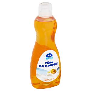 Tip Line Pěna do koupele mléko + med 1000ml