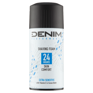 Denim Extra Sensitive pěna na holení 300ml