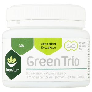Topnatur Green Trio 180 tablet 90g