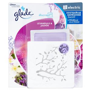 Glade by Brise Discreet Electric levandule & jasmín elektrický osvěžovač vzduchu 8g