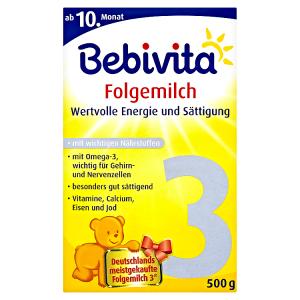 Bebivita 3 Instantní mléčná pokračovací kojenecká výživa 2 x 250g