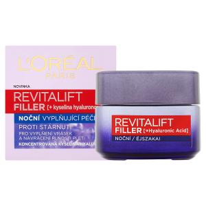 L'Oréal Paris Revitalift Filler noční vyplňující péče 50ml