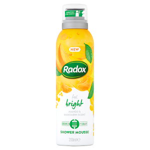 Radox sprchová pěna Feel Bright 200ml