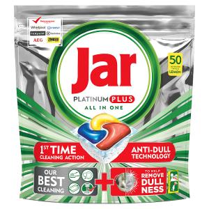 Jar Platinum Plus Lemon Kapsle Do Automatické Myčky Nádobí, 50 ks
