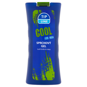 Tip Line Cool for Man Sprchový gel tvař & tělo & vlasy 500ml