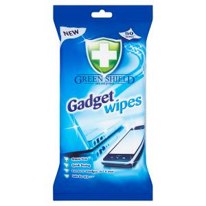 Green Shield Vlhčené ubrousky na LCD obrazovky, laptopy, mobilní telefony 50 ks