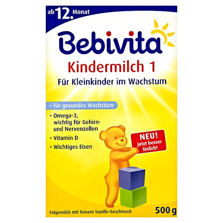 Bebivita Junior 1+ pokračovací mléčná kojenecká výživa 2 x 250g