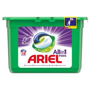 Ariel Allin1 Pods Lavender Kapsle Na Praní, 14 Praní