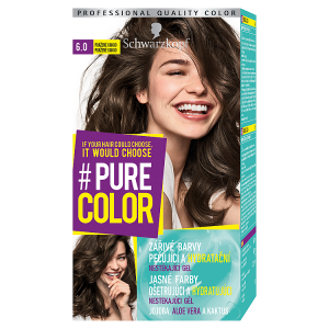 Schwarzkopf Pure Color barva na vlasy Pražené Kakao 6.0