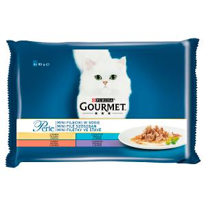 GOURMET Perle Multipack - mini filetky ve šťávě 4 x 85g
