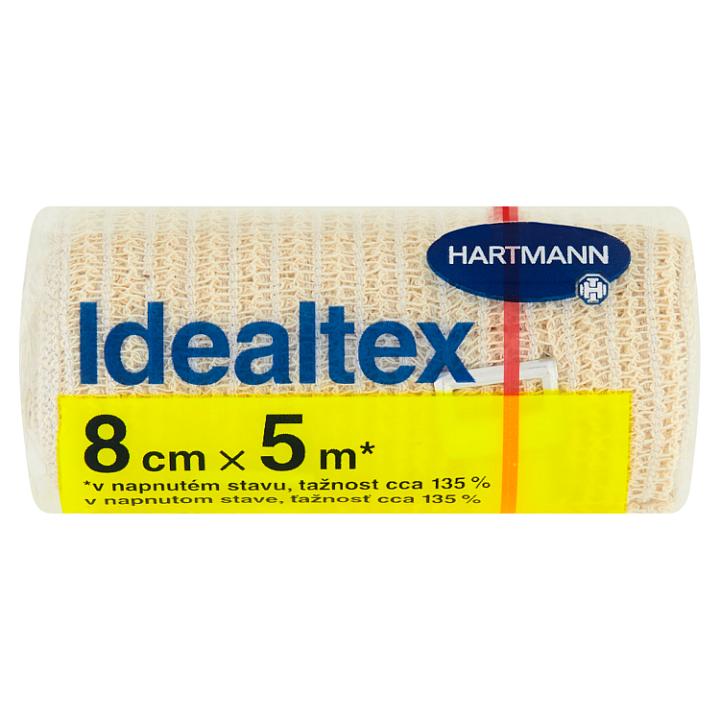 Hartmann Idealtex obinadlo pružné, pletené 8 cm x 5 m Hartmann