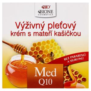 Bione Cosmetics Bio výživný pleťový krém s mateří kašičkou med Q10 51ml