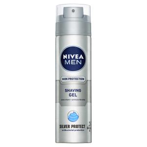 Nivea Men Silver Protect Gel na holení 200ml