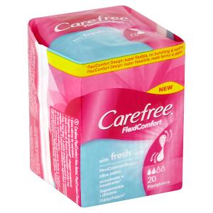 Carefree FlexiComfort Slipové vložky se svěží vůní 20 ks