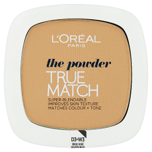 L'Oréal Paris True Match Kompaktní pudr Golden Beige W3 9g