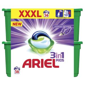 Ariel Lavender Freshness Kapsle Na Praní Prádla 3v1 56Praní