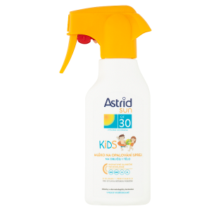 Astrid Sun Dětské mléko na opalování sprej OF 30 200ml