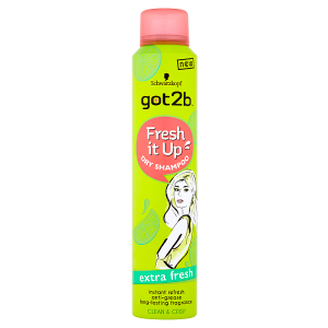 got2b Fresh it Up suchý šampon Extra Fresh 200ml