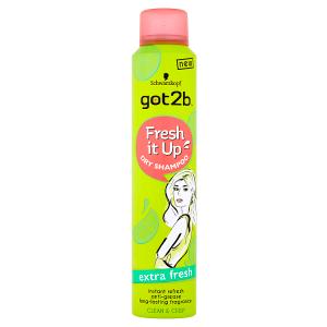 got2b Fresh it Up suchý šampon Extra Fresh 200ml