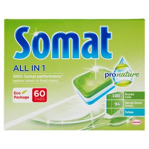 Somat All in 1 Pro Nature tablety do myčky na nádobí 60 tablet 960g