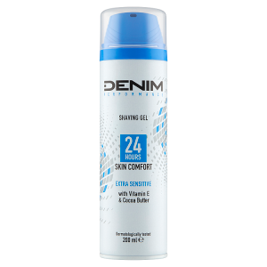 Denim Extra Sensitive gel na holení 200ml