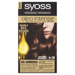 Syoss Oleo Intense dlouhotrvající olejová barva Hnědá Moka 4-18
