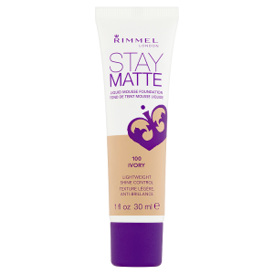 Rimmel London Stay Matte Make-up 100 ivory 30ml