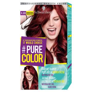 Schwarzkopf Pure Color barva na vlasy Malinová Červená 6.88