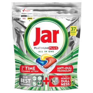 Jar Platinum Plus Lemon Kapsle Do Automatické Myčky Nádobí, 37 ks