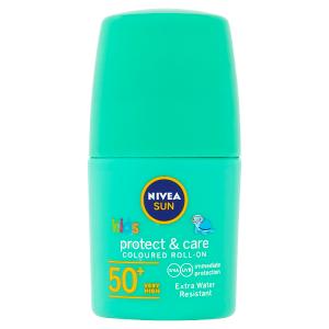 Nivea Sun Protect & Care Dětské barevné mléko na opalování v kuličce OF 50+ 50ml