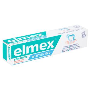 elmex Sensitive Whitening speciální zubní pasta pro každodenní ochranu citlivých zubů 75ml