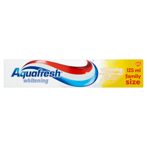 Aquafresh Whitening + Complete Care zubní pasta 125ml