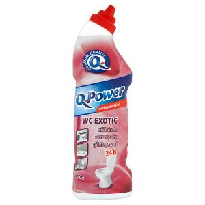 Q-Power WC čistič exotic antibakteriální 750g
