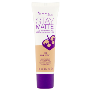 Rimmel London Stay Matte Make-up 103 true ivory 30ml