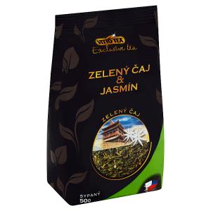 Vitto Tea Exclusive tea Zelený čaj & jasmín sypaný 50g