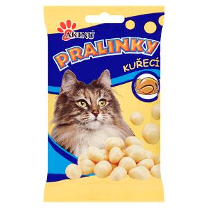 Akinu Pralinky kuřecí doplňkové krmivo pro kočky 40g