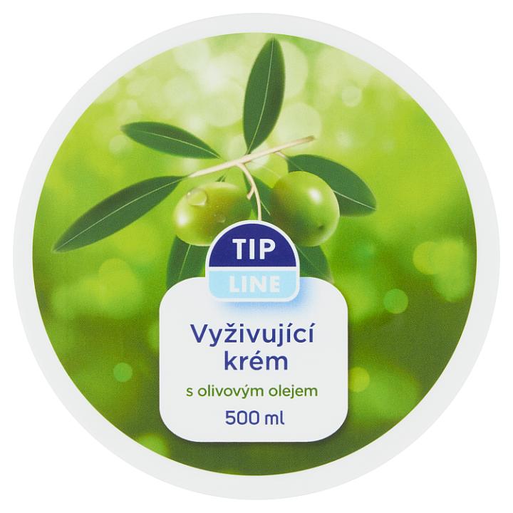 E-shop Tip Line Vyživující krém s olivovým olejem 500ml