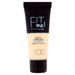 Maybelline New York Fit Me! Matte and Poreless 100 make-up 30ml