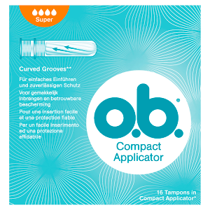 O.B. Compact Applicator Super tampony 16 ks