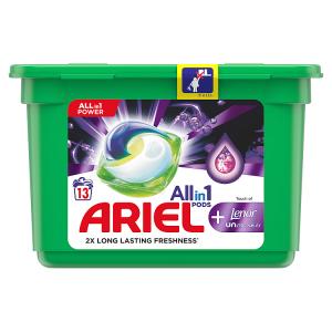 Ariel Allin1 Pods +Unstoppables Kapsle Na Praní 13 Praní