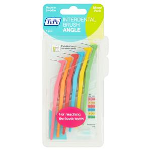 TePe Angle Mixed Pack mezizubní kartáček 6 ks