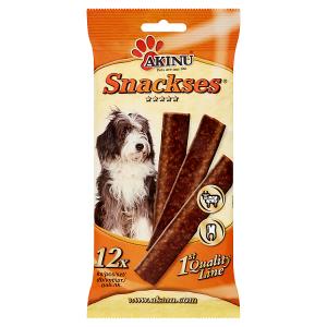 Akinu Snackses plátky pro psy 12 ks