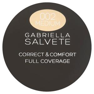 Gabriella Salvete Correct & Comfort Full Coverage Cream 002 Medium 2,0g
