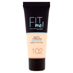 Maybelline New York Fit Me! Matte and Poreless 102 make-up 30ml