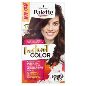 Schwarzkopf Palette Instant Color barva na vlasy Středně Hnědý 17 25ml
