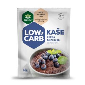 Topnatur Low carb kaše Kakao&Borůvka 60g