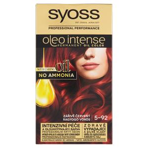 Syoss Oleo Intense dlouhotrvající olejová barva Zářivě Červený 5-92