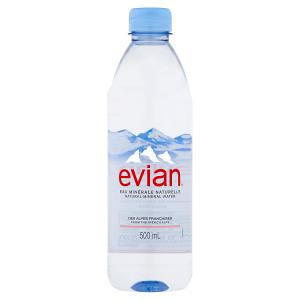 Evian Přírodní minerální voda nesycená 500ml