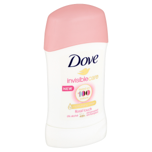 Dove Invisible Care Floral Touch tuhý antiperspirant 40ml