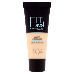 Maybelline New York Fit Me! Matte and Poreless 104 make-up 30ml